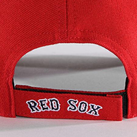'47 Brand - Casquette MVP Adjustable MVP02WBV Boston Red Sox Rouge