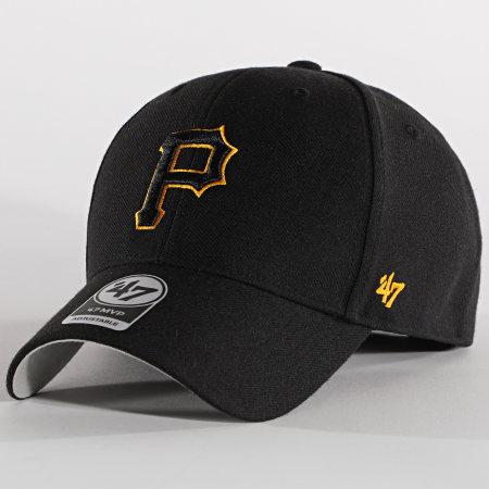 '47 Brand - Casquette MVP Adjustable MVP20WBV Pittsburgh Pirates Noir