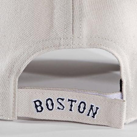 '47 Brand - Casquette MVP Adjustable MVP02WBV Boston Red Sox Beige