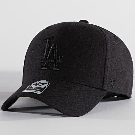 '47 Brand - Casquette MVP Adjustable MVPSP12WBP Los Angeles Dodgers Noir