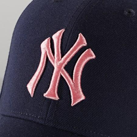 '47 Brand - Casquette MVP Adjustable MVPSP17WBP New York Yankees Bleu Marine