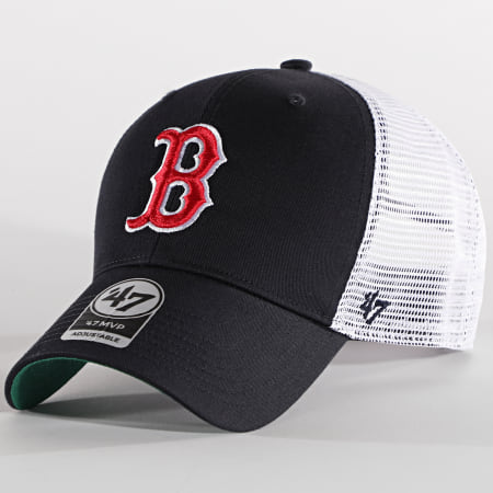 '47 Brand - Casquette Trucker MVP Adjustable BRANS02CTP Boston Red Sox Noir