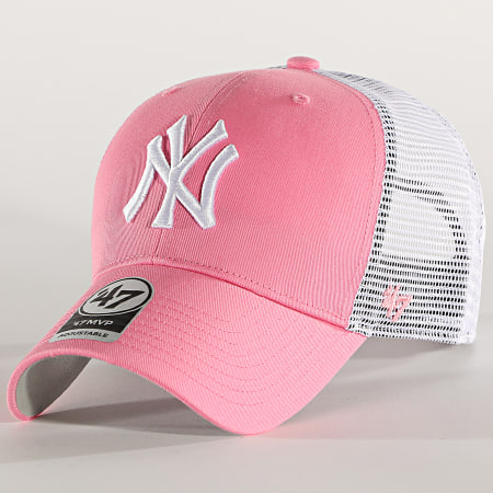 '47 Brand - Casquette Trucker MVP Adjustable BRANS17CTP New York Yankees Rose