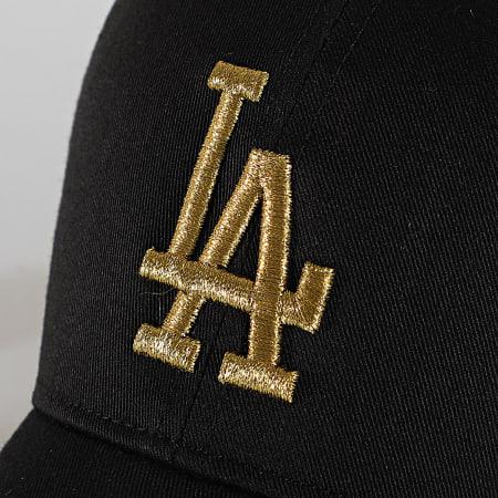 '47 Brand - Casquette Trucker MVP Adjustable BRMTL12CTP Los Angeles Dodgers Noir Doré