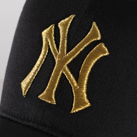 '47 Brand - Casquette Trucker MVP Adjustable BRMTL17CTP New York Yankees Noir Doré