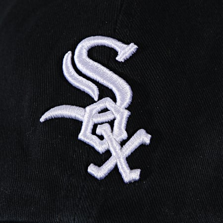 '47 Brand - Casquette Clean Up Adjustable RGW06GWS Chicago White Sox Noir