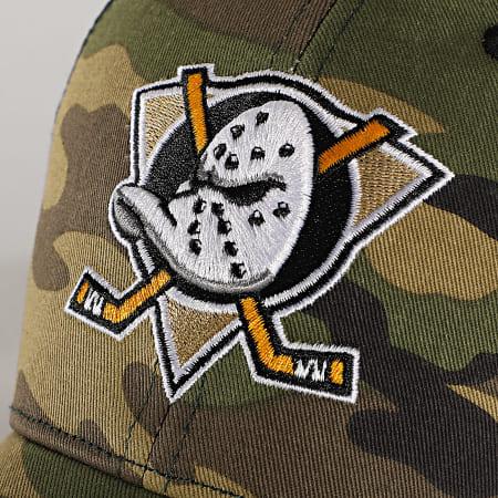 '47 Brand - Casquette Trucker MVP Adjustable CBRAN25GWP Anaheim Ducks Camo Vert Kaki
