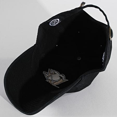 '47 Brand - Casquette Clean Up Adjustable RGW15GWS Pittsburghs Penguins Noir