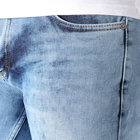 Armita - Short Jean Slim 1752 Bleu Denim