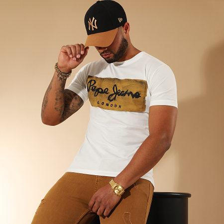 Pepe Jeans - Tee Shirt Charing Blanc