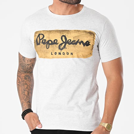 Pepe Jeans - Tee Shirt Charing Gris Chiné