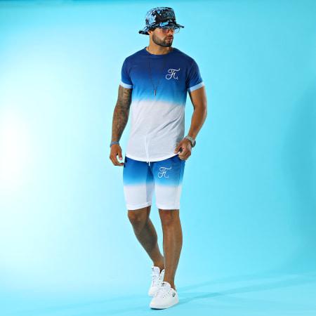 Rastaclat - Bracelet MLB Los Angeles Dodgers Bleu