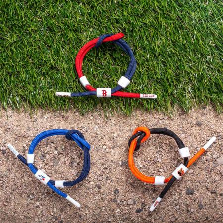 Rastaclat - Bracelet MLB Boston Red Sox Rouge Bleu Marine