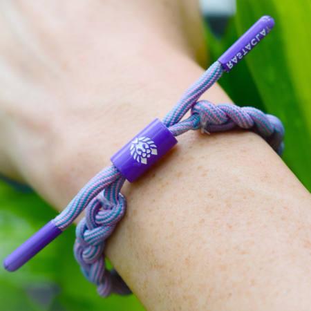 Rastaclat - Bracelet Femme Lush Violet