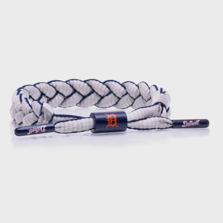 Rastaclat - Bracelet MLB Detroit Tigers Orange Gris