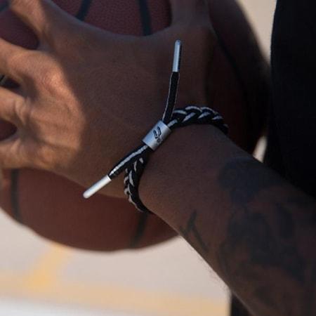 Rastaclat - Bracelet NBA San Antonio Spurs Noir