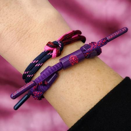 Rastaclat - Bracelet Femme Grigri Violet