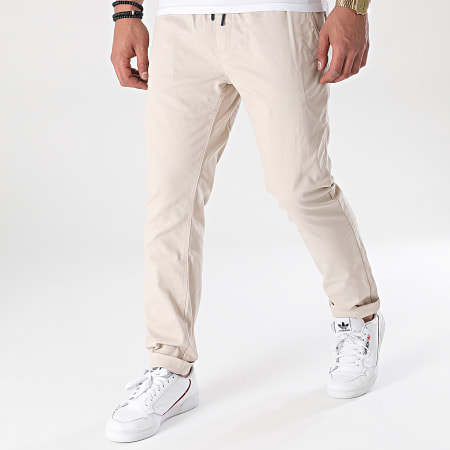 Tommy Jeans - Pantalon Chino Slim Scanton 0125 Beige