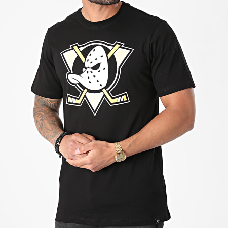 '47 Brand - Tee Shirt Anaheim Ducks HH025TEMIME54 Noir
