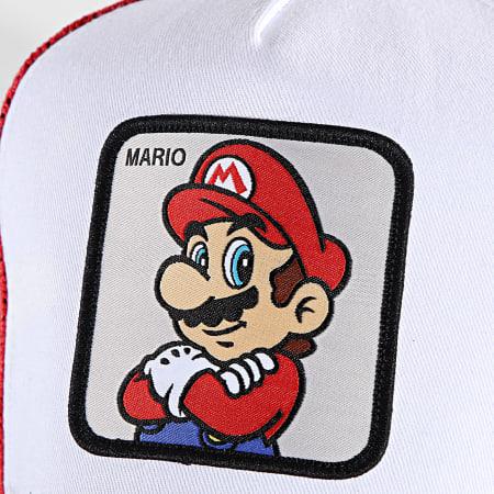 Super Mario - Casquette Trucker Mario Rouge Blanc Noir