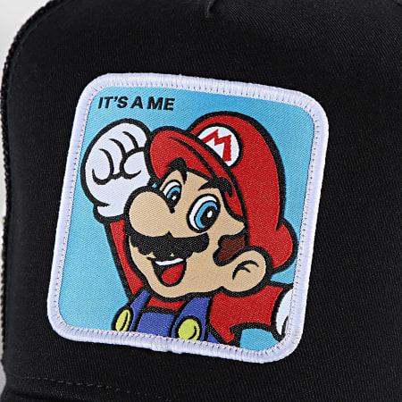Super Mario - Casquette Trucker It's A Me Noir