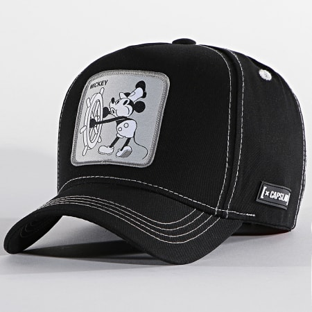 Mickey Mouse - Casquette Mickey Noir