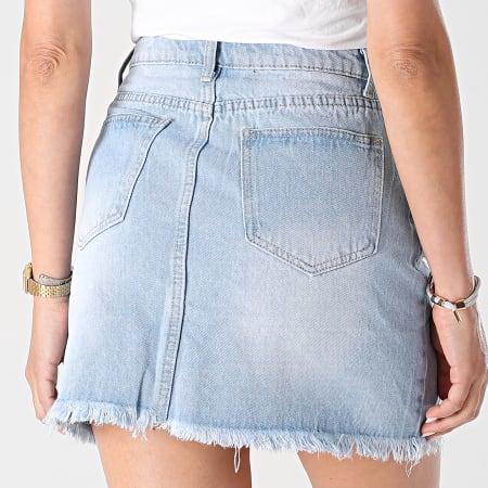 Girls Outfit - Jupe Jean Femme B950 Bleu Denim