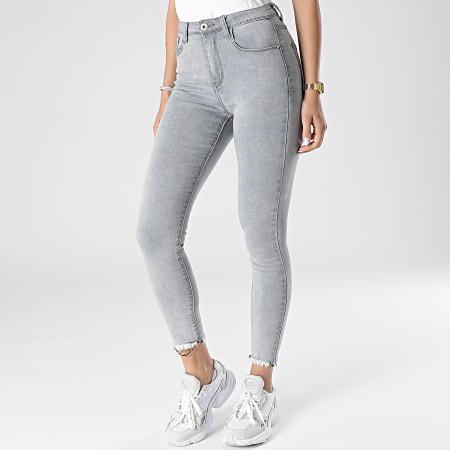 Girls Outfit - Jean Skinny Femme B911 Gris