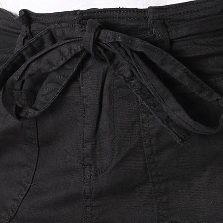 Girls Outift - Short Jean Femme C9067 Noir