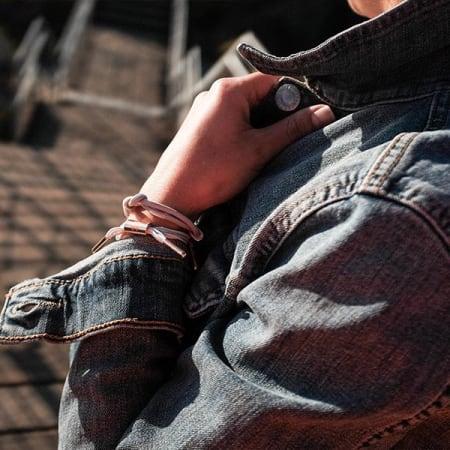 Rastaclat - Bracelet Femme Maya Beige