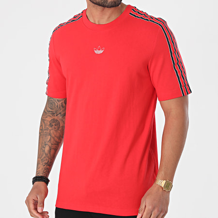 adidas - Tee Shirt A Bandes SPRT GN2419 Rouge