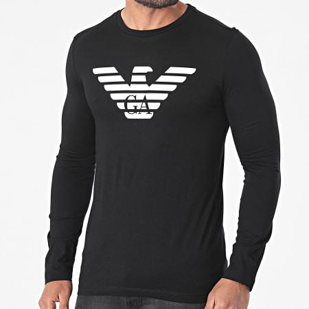 Emporio Armani - Tee Shirt Manches Longues 8N1T64-1JNQZ Noir