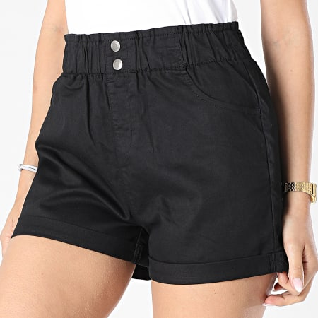 Girls Outfit - Short Jean Femme Noir