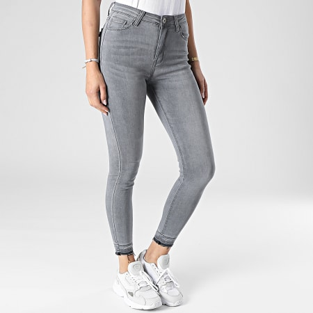 Girls Outfit - Jean Skinny Femme B910 Gris