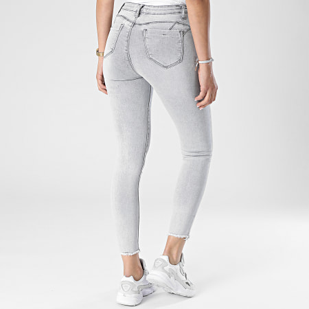 Girls Outfit - Jean Skinny Femme A159 Gris