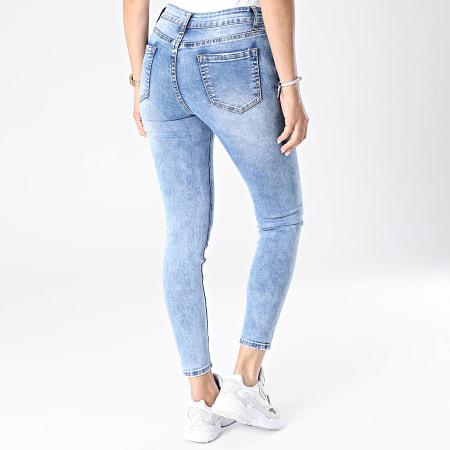 Girls Outfit - Jean Skinny Femme MG-003 Bleu Denim