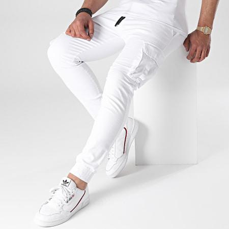 John H - Jogger Pant XWP8057 Blanc