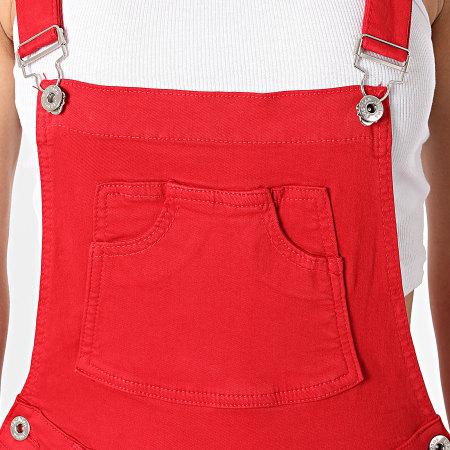 Girls Outfit - Salopette Femme CK1897 Rouge