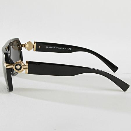 Versace - Lunettes De Soleil 0VE4399-GB1 Noir Doré