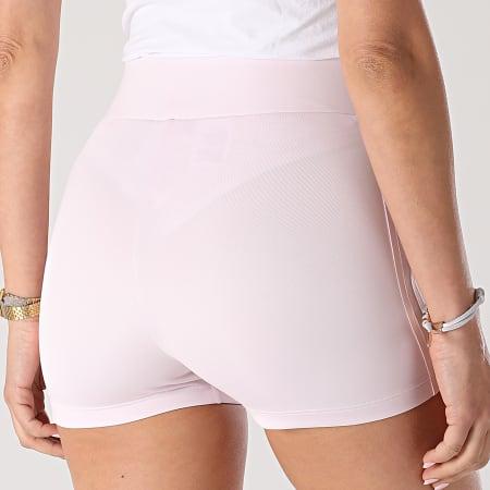 adidas - Short Jogging Femme A Bandes H56463 Rose