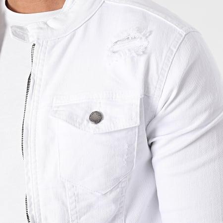 Black Industry - Veste Jean 2315 Blanc