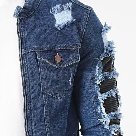 Black Industry - Veste Jean 3221 Bleu Denim