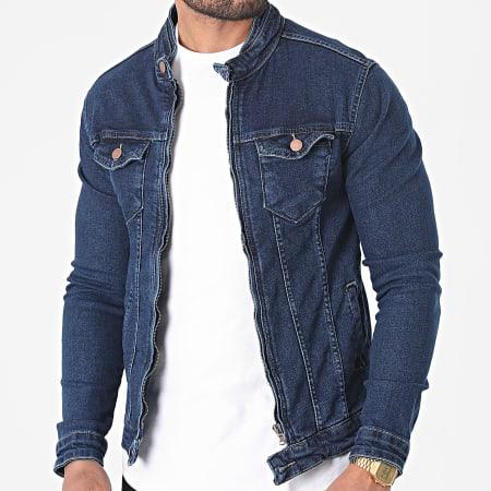 Black Industry - Veste Jean 2969 Bleu Denim