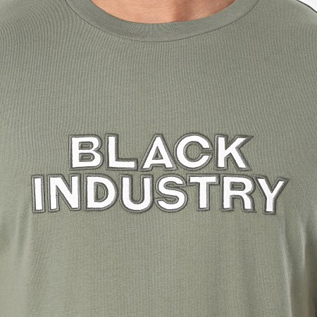Black Industry - Tee Shirt 20-55 Vert Kaki
