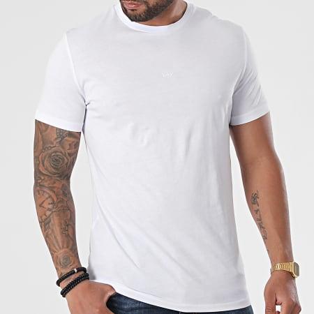 Black Industry - Tee Shirt T-130 Blanc