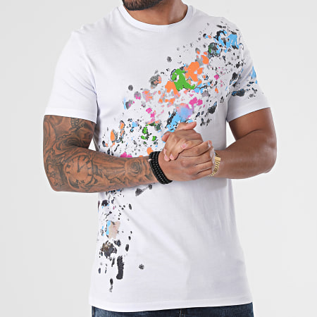 Black Industry - Tee Shirt T-132 Blanc