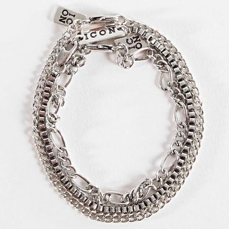 Icon Brand - Bracelet P1885 Argent