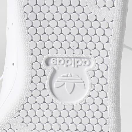 adidas - Baskets Femme Stan Smith H05055 Cloud White Green Gold Metallic