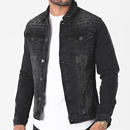 Mackten - Veste Jean 540 Noir