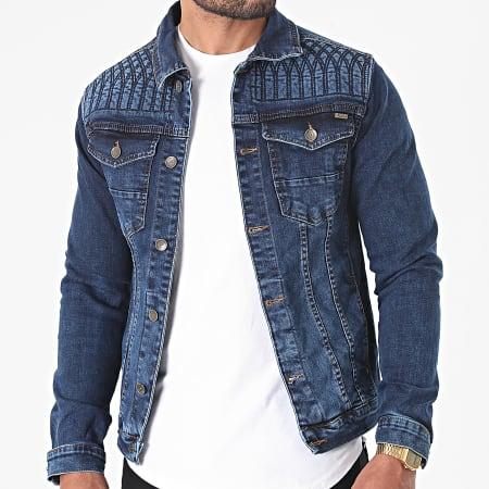 Mackten - Veste Jean 585 Bleu Denim